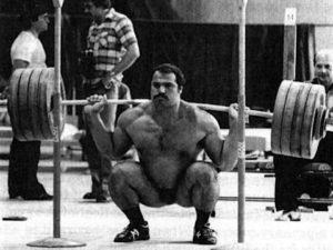 squat to gain muscle