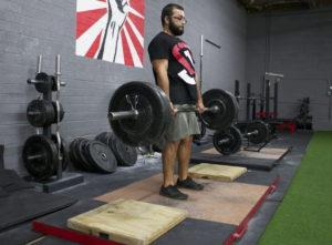 Block Pull Deadlift