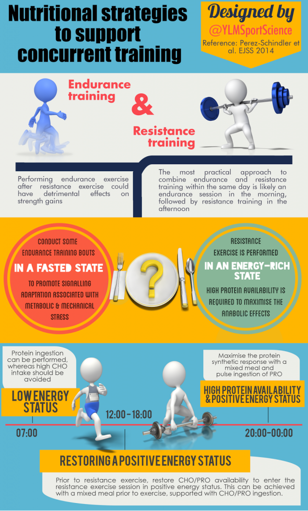 Nutrition for Concurrent Training