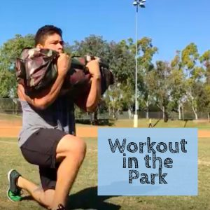 workout in the park square