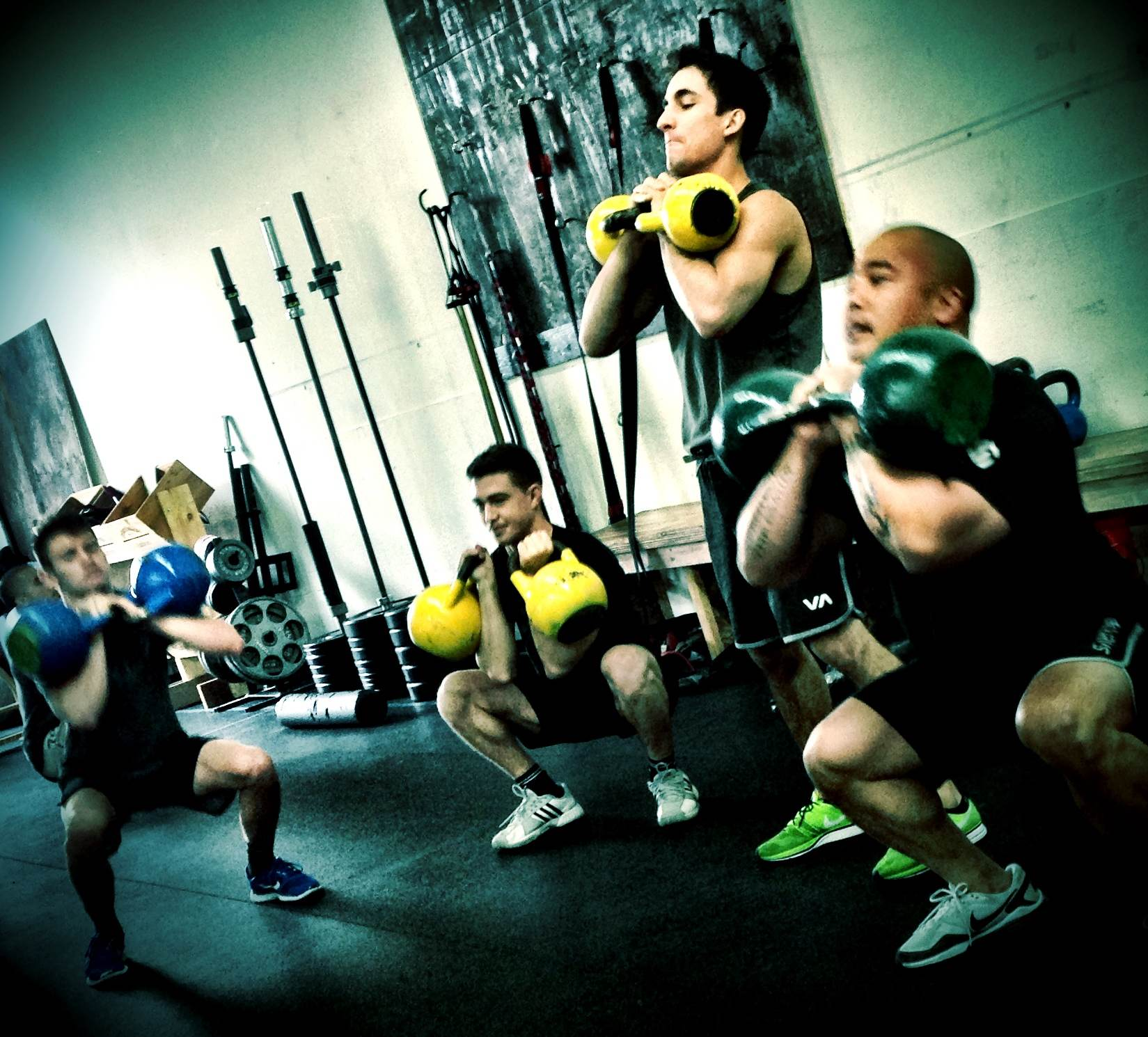 Fight Camp Conditioning Squats