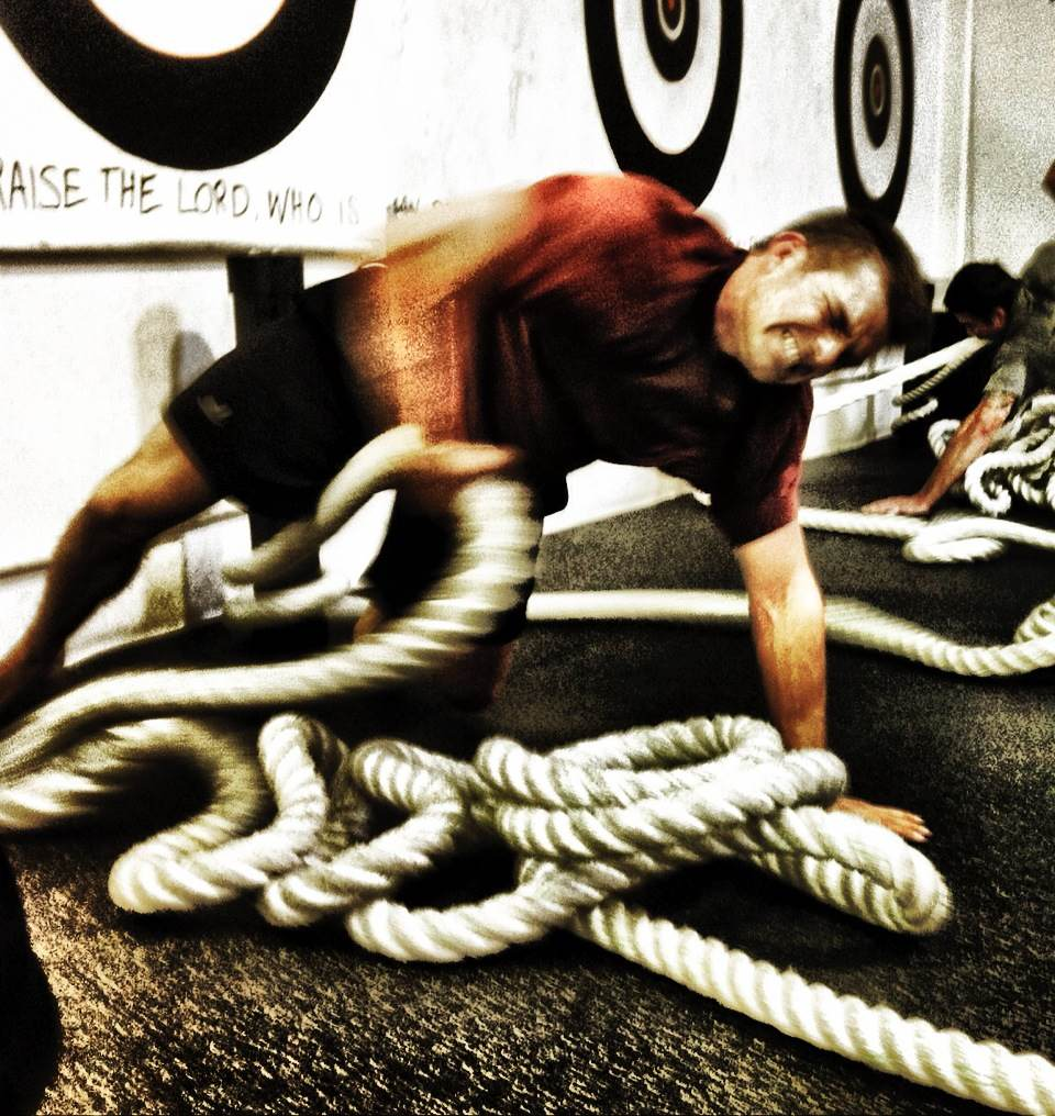 rope pull for grip strength