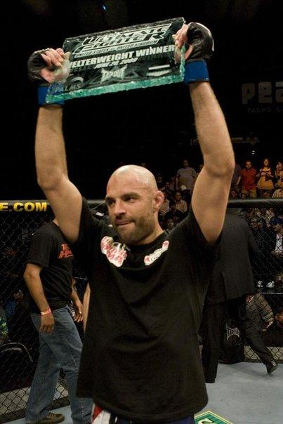 "James ""Lightning"" Wilks - Winner of Season 9 of the Ultimate Fighter"