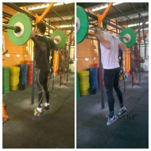 william wayland barbell jumps
