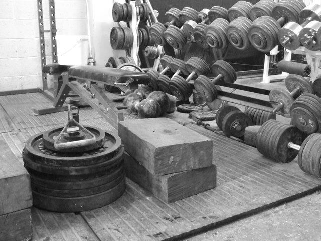All the equipment you need to build ultimate strength