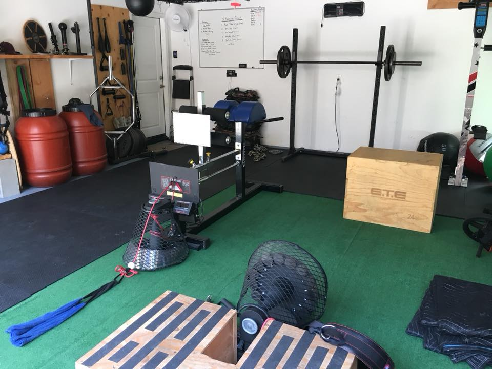Build the ultimate garage gym for about $5 per day!