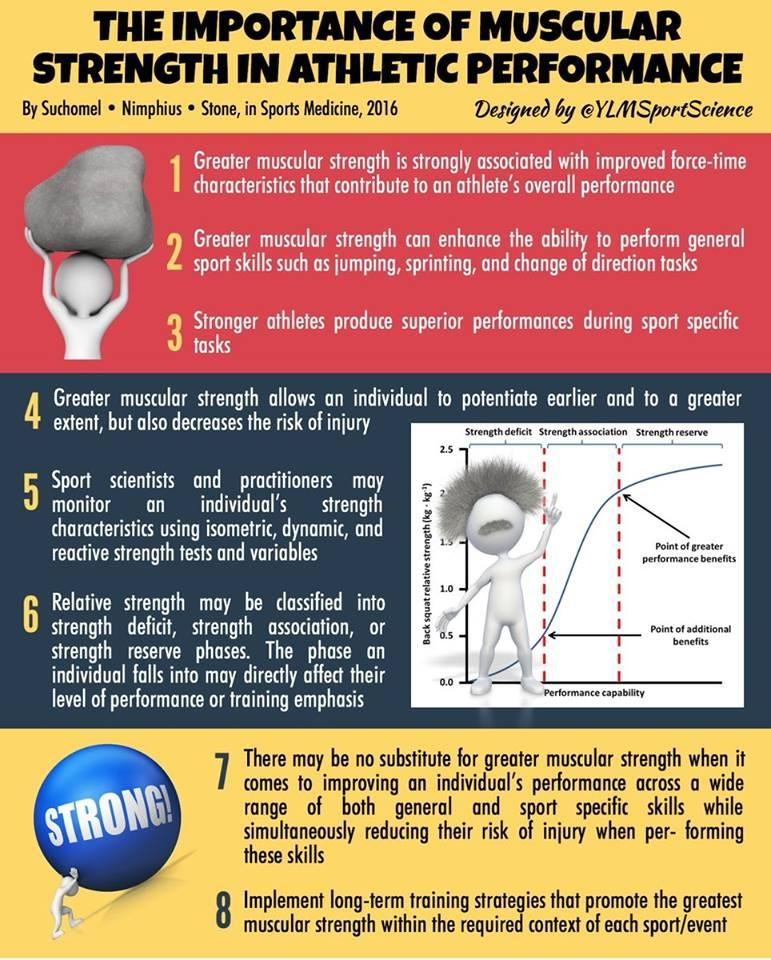 The Importance Of Muscular Strength In Athletic Performance