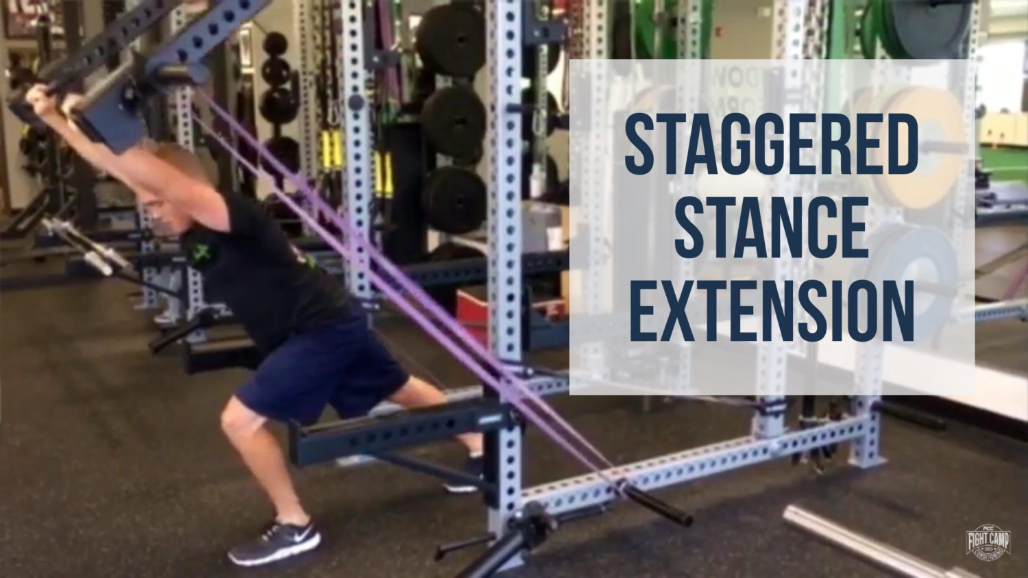 Staggered Stance Extension