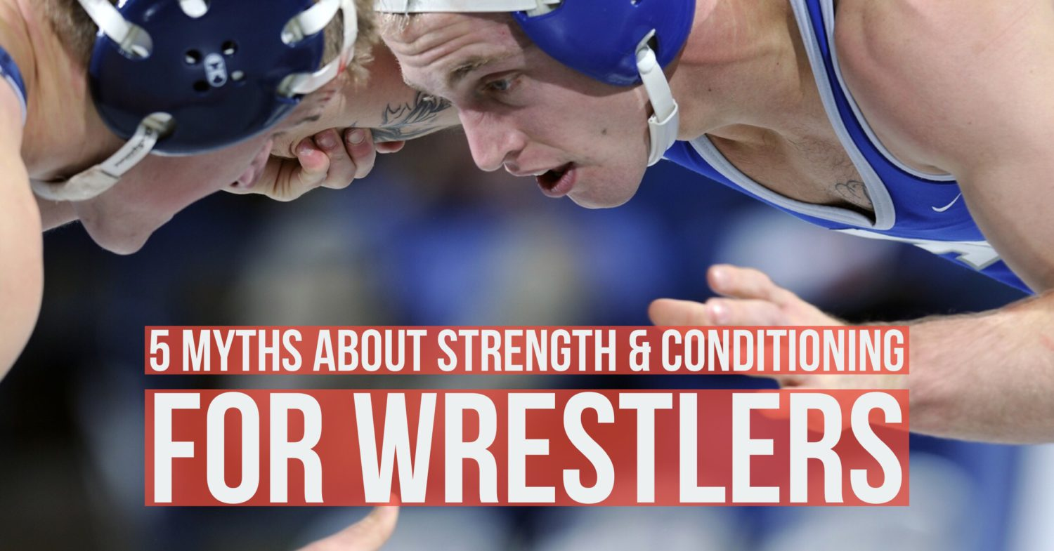 Top 5 MYTHS About Wrestling Workouts