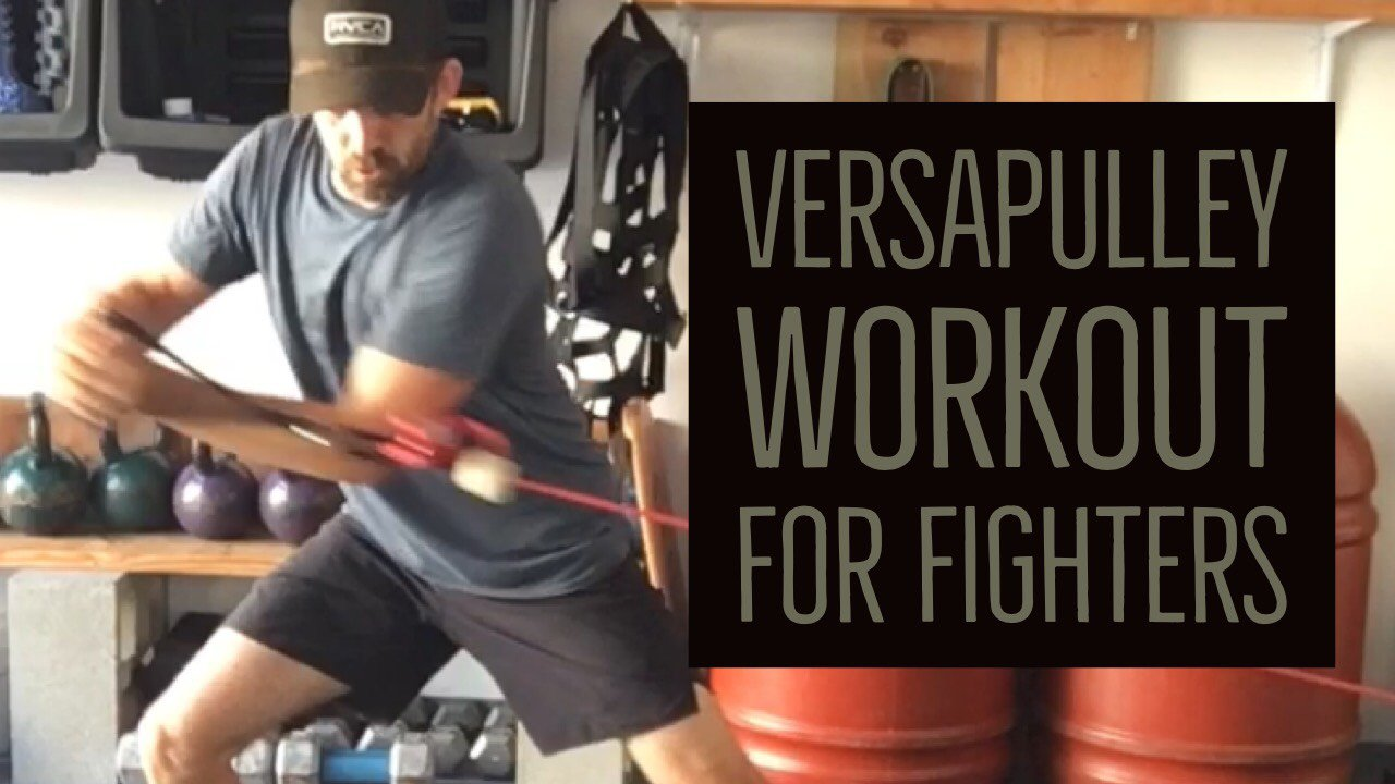 Versapulley workout for fighters