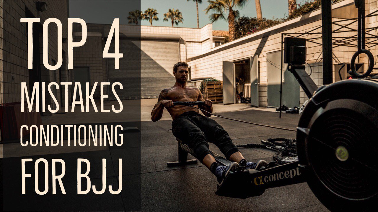 Top Mistakes When Conditioning for BJJ