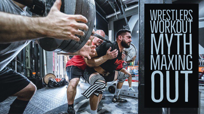 Wrestlers Workout Myth of Maxing Out
