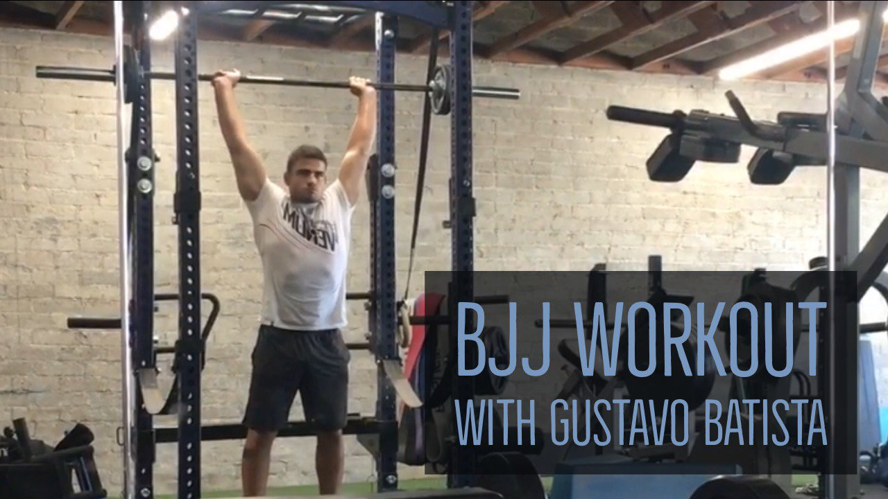 BJJ Workout with Gustavo Batista