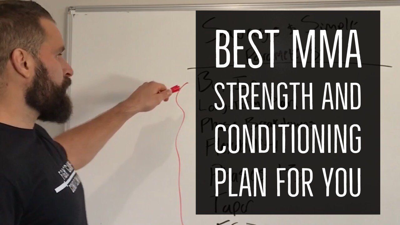 best mma strength and conditioning plan
