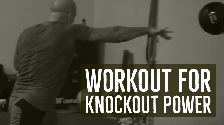 workout for knockout power